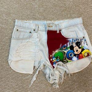 LF (furst of a kind) custom Disney shorts